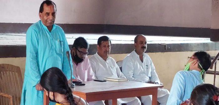 करोना काल में भी विद्या भारती के विद्यालय समाज के अपेक्षाओं पर खरा उतर रहा है : अजय तिवारी